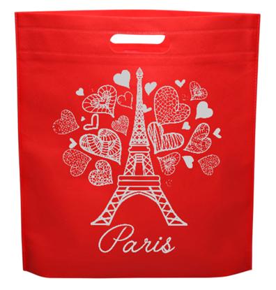 Paris Gift Bag - D-cut Non Woven