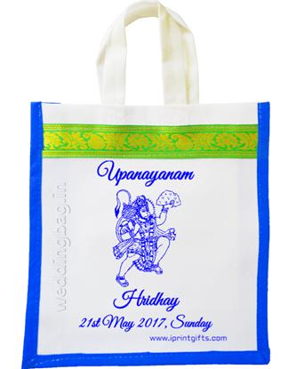 Upanayanam Zari Gift Bag - Non Woven