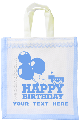 Happy Birthday Gift Bag - Non Woven