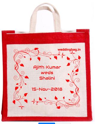Jute Wedding Thamboolam Bag