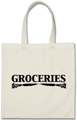 Eco friendly grocery shopping bag - Cotton - White