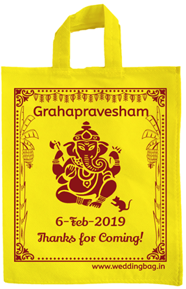 traditional Grahapravesam Thamboolam Tote bag - Non Woven