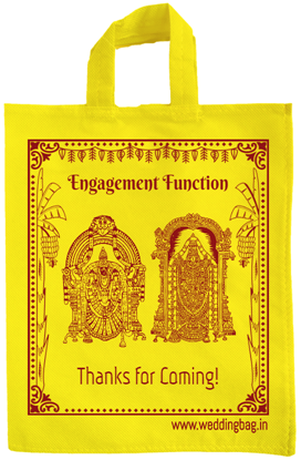 Traditional Engagement Thamboolam bag - Non Woven