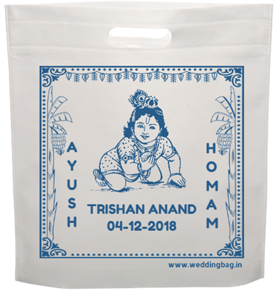 D-cut Ayush Homam Return Gift Thamboolam Bag